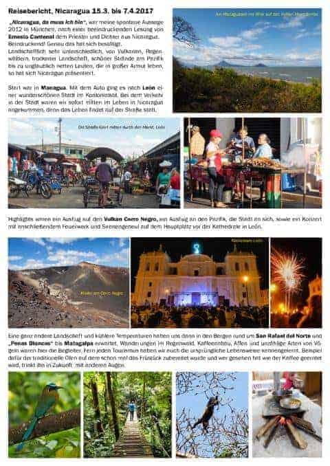 Nicaragua Reisebericht